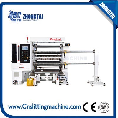 ZTM-C1000/1600 High Speed Slitting Rewinding Machine